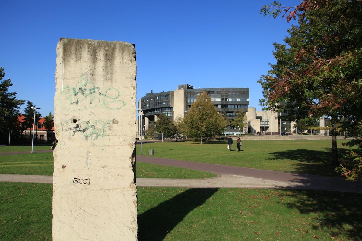 Berliner Mauer in Düsseldorf