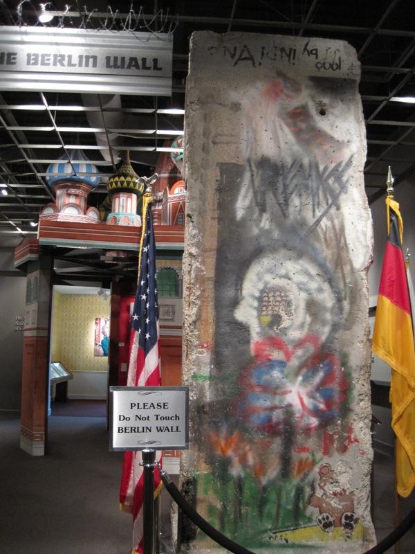 Berliner Mauer in Yorba Linda