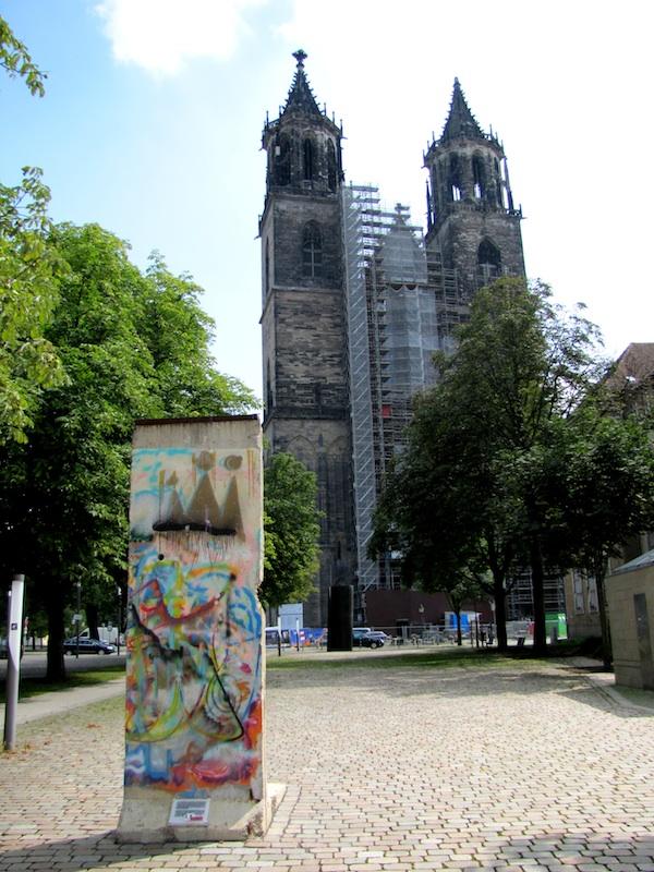 Berliner Mauer in Magdeburg
