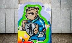 Berliner Mauer in Zagreb
