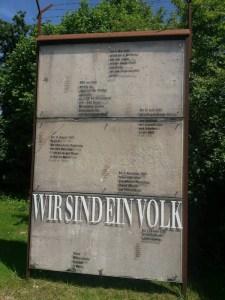 Berliner Mauer in Postbauer-Heng