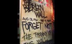 Berlin Mauer in Chicago