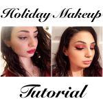 sarah-christmas-makeup-hollywood-glam-look-1-2