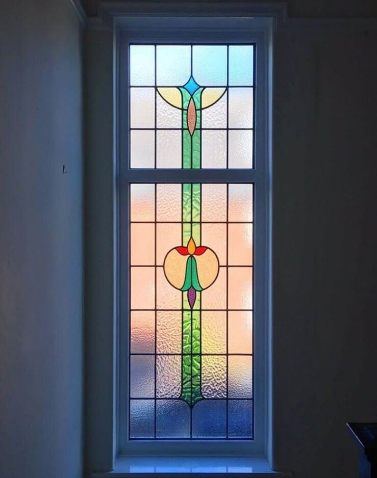 Stained Glass Installation Altrincham