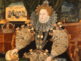 One of the three Armada portraits of Queen Elizabeth I (Woburn Abbey Collection)