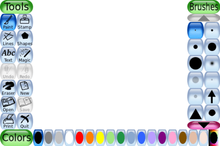 Tux Paint – Open source drawing software for children