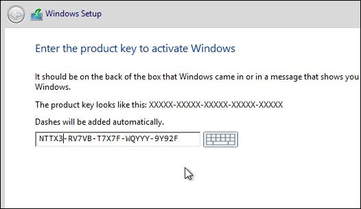 window 8.1 product key free