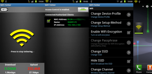 Wi-Fi Tether APK Full Cracked For Android