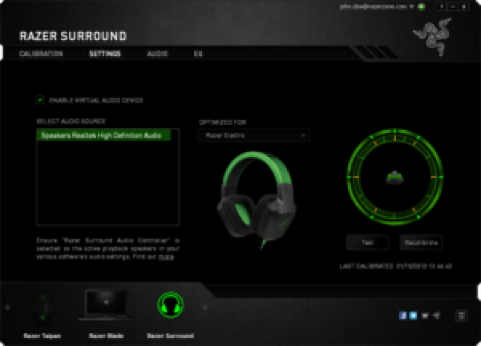 Razer surround pro 2.0 Crack Key Download