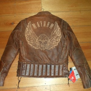Brown Leather Jacket Back - 500 x 500px