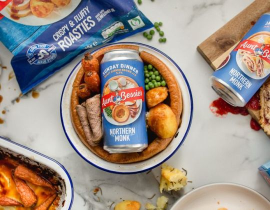 Yorkshire Brewery Creates Sunday Roast Beer Using Aunt Bessie's Yorkshire Puddings