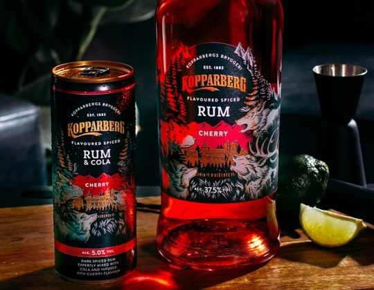 Kopparberg Has Released A New Cherry Spiced Rum Perfect For Summer