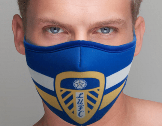 Leeds United Is Now Selling Protective Coronavirus Face Masks