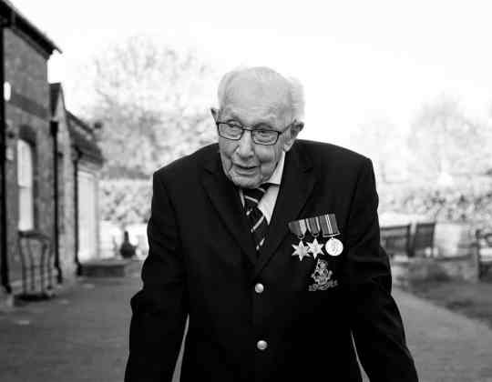 Captain Sir Tom Moore Has Died Aged 100 After Contracting Coronavirus