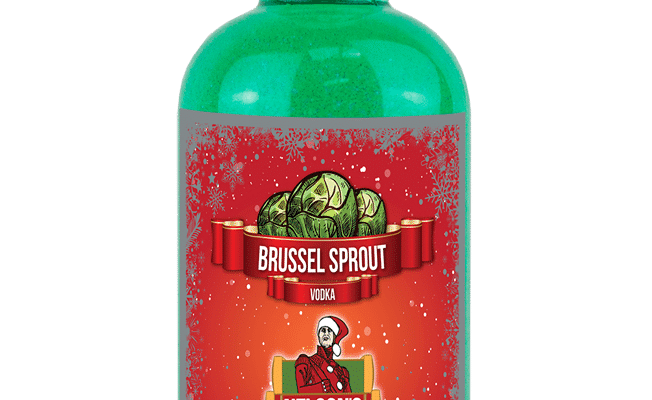 You Can Now Buy Gin Which Tastes Like Christmas Dinner & Brussel Sprout Vodka