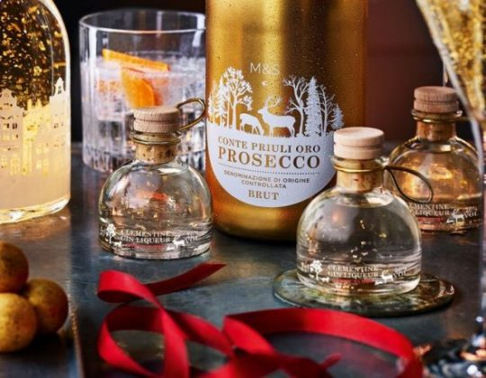 M&S Has Relaunched Snow Globe Gin & Mini Gin Snow Globe Baubles With 24-Carat Gold Inside
