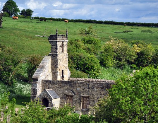 The Completely Deserted Medieval Village Hidden In The Yorkshire Countryside