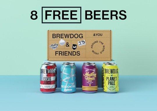 BrewDog Is Giving Away Eight Free Beers