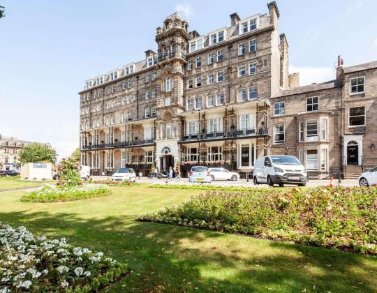Harrogate Hotel Has Turned Its Car Park Into A Bespoke Dales-Inspired Beer Garden