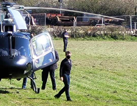 Tom Cruise Spotted Filming Mission: Impossible 7 In Yorkshire
