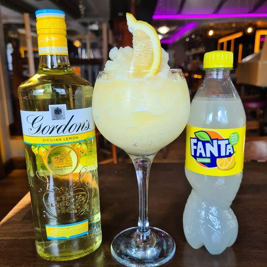 Fanta Lemon Cocktail