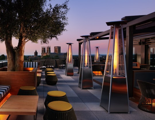 York's New Rooftop Bar Is The Perfect Place For Cocktails This Summer
