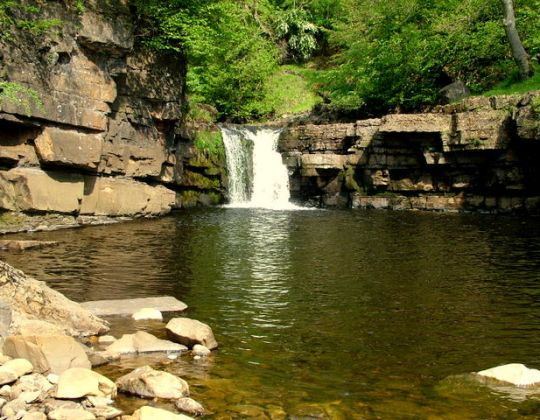 This Secret Yorkshire Waterfall Is One Of The Best UK Spots For Wild Swimming