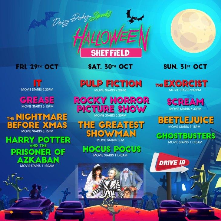 Yorkshire Halloween drive-in cinema