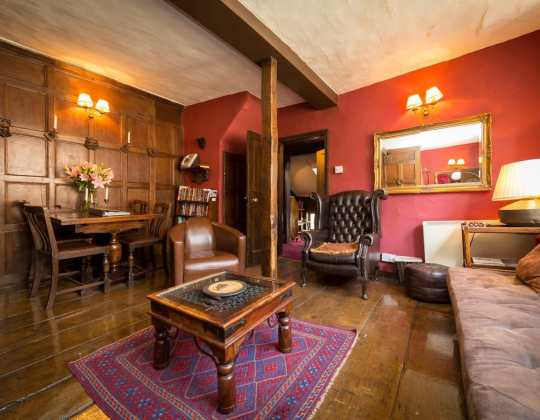 You Can Stay At This 600-Year-Old Apartment Where Ghosts Are Known To Roam The Halls