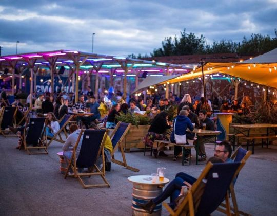 A Festive Winter Village Is Coming To Yorkshire With Street Food & Festive Drinks