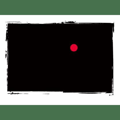 roter Künstlerpunkt