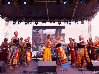Africa Sound And Look Bold