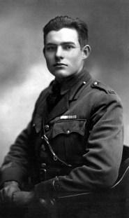 Hemingway, 1918, Milan