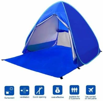 #8 BATTOP Automatic Pop Up Beach Tent