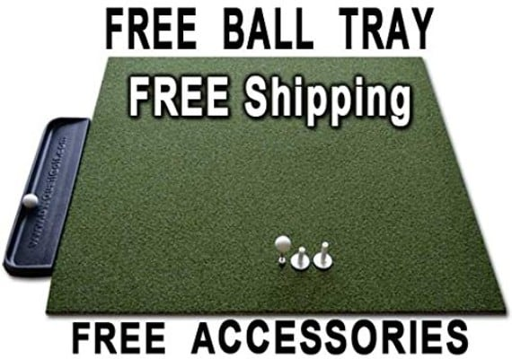 Golf Mat 4' x 5' Dura-Pro Plus Residential Golf Hitting Mat
