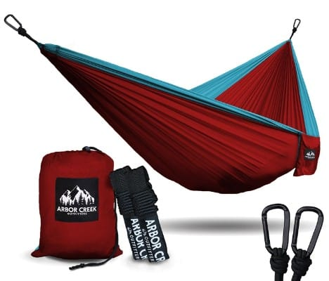 Best XL Double Camping Hammock - Heavy Duty and Ultralight Nylon Travel Hammock