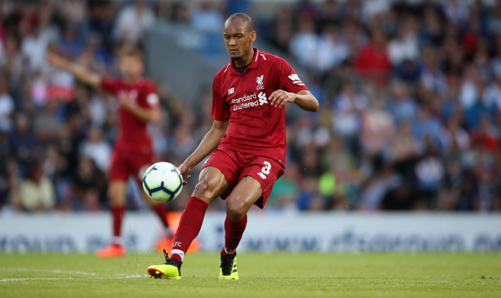 Fabinho admits to early struggles at Liverpool following summer switch