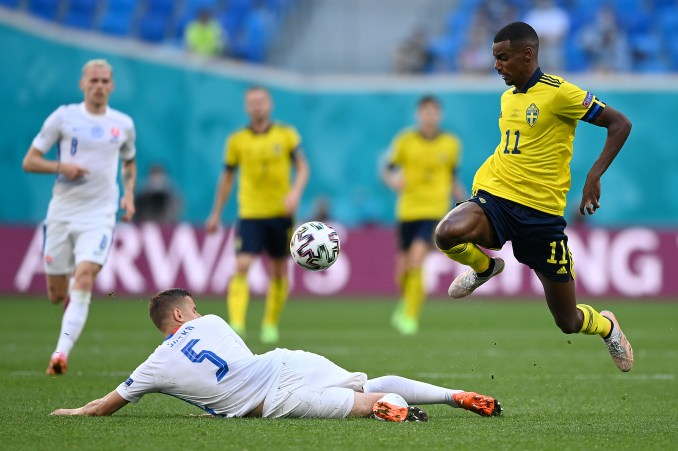 Alexander Isak Run vs Slovakia Left Entire Defense In Shambles