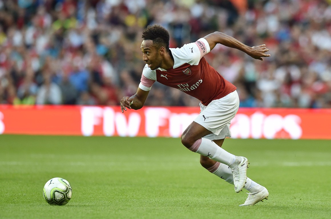 How Fast Is Pierre-Emerick Aubameyang? FIFA's Top-Rated Speedster Has Pace For Days