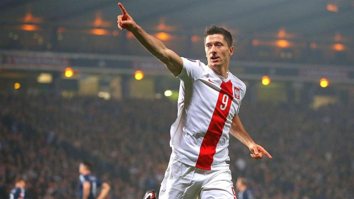Image result for Robert Lewandowski - Poland
