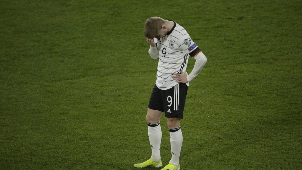 Timo Werner Miss vs North Macedonia Costs Germany Win Streak