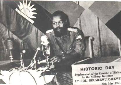 Ojukwu declares Biafra Republic