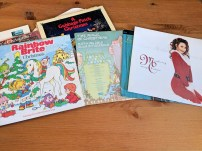 The range of Christmas albums we have.