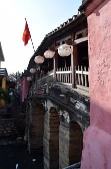 かつて日本人によって架けられたと言われる日本橋(来遠橋)