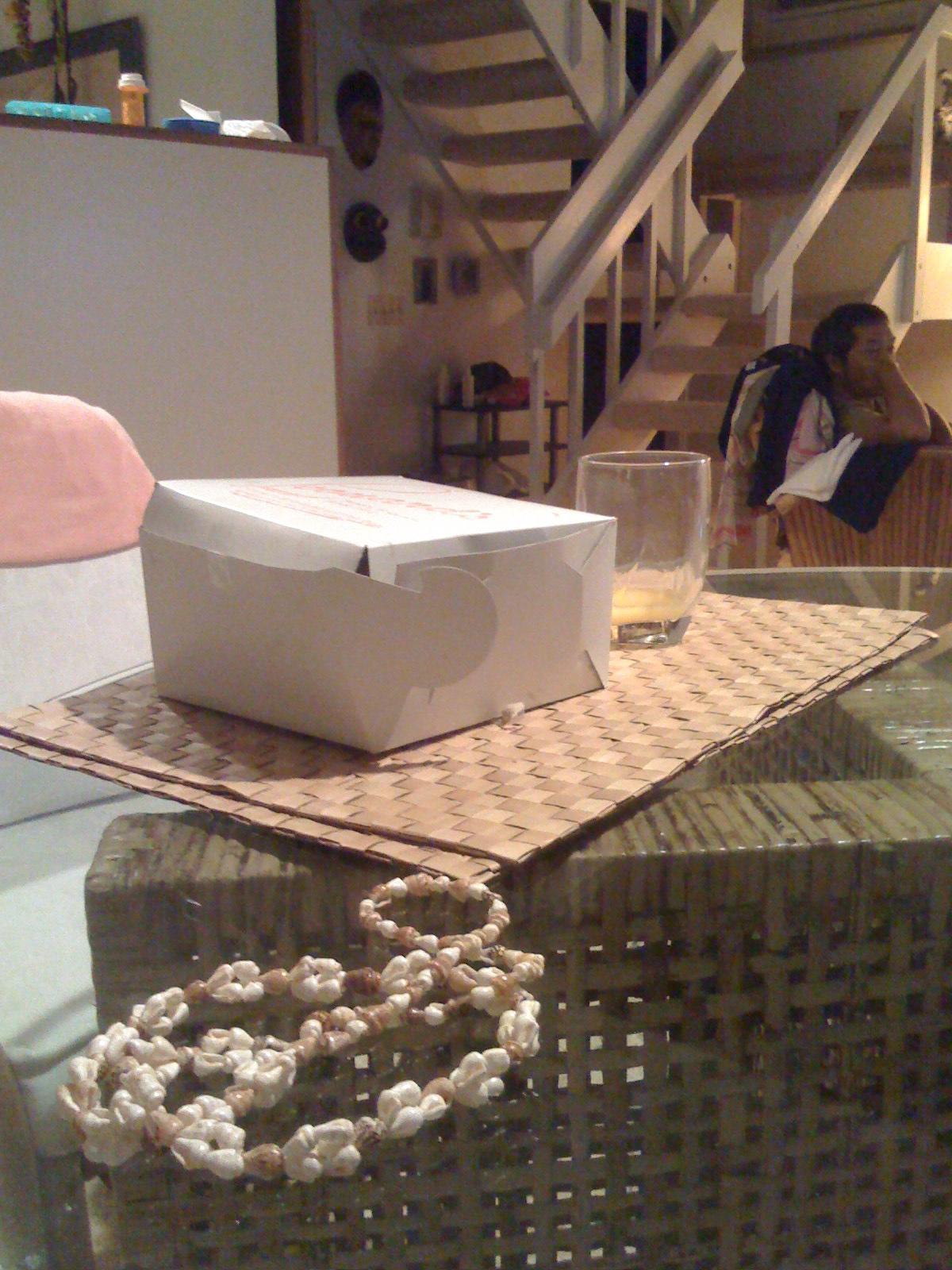 leonard's malasadas--a half empty box