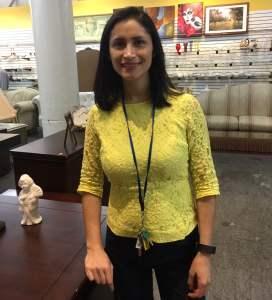 Carla Contreras, Deputy Director of Store Operations at Saint Vincent de Paul's Los Angeles Thrift Store