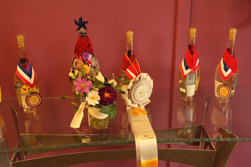Acquiesce Winery awards