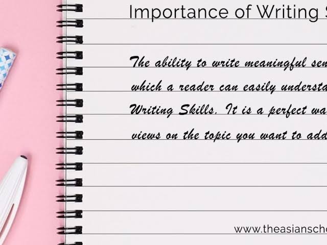 Why is Writing Important in Education?