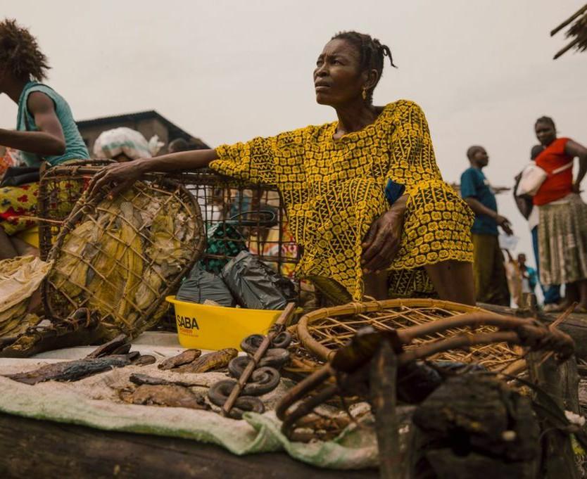 Snake Seller Congo