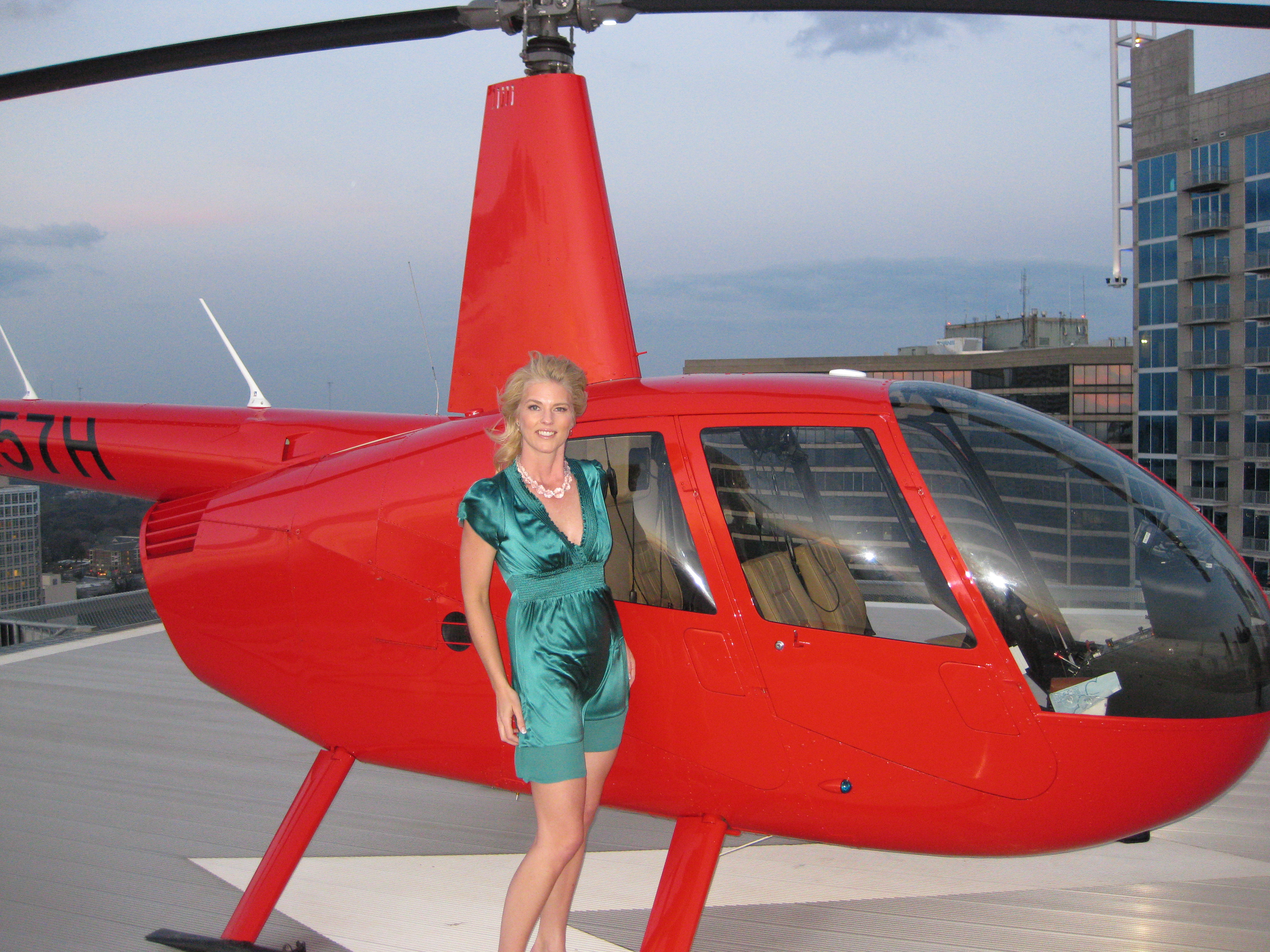 W Hotel Helicopter
